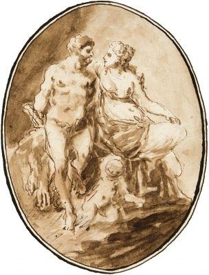 hercules u deianira by christoph felix chr fuchs