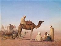 rast der beduinen by henrik august ankarcrona