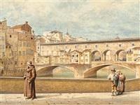 ponte vecchio florence by domenico pesenti