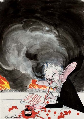 should blair be allowed to sell his story? by gerald scarfe