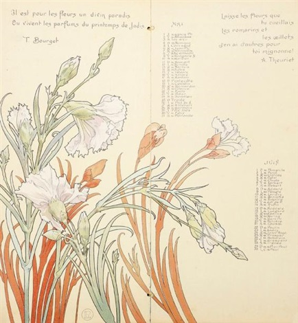 calendrier by henri privat livemont