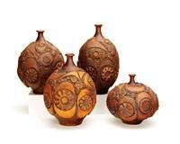group of vases (set of 4) by steve salisian
