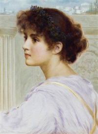 a grecian muse by norman prescott davies