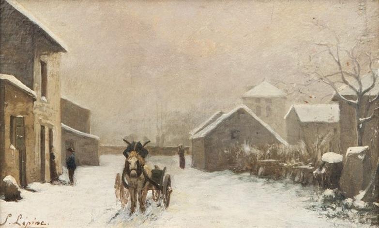 le vieux montmartre by stanislas lépine