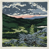 brigg's meadow (from landscapes) by neil welliver