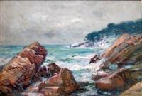 bord de mer by charles louis auguste weisser