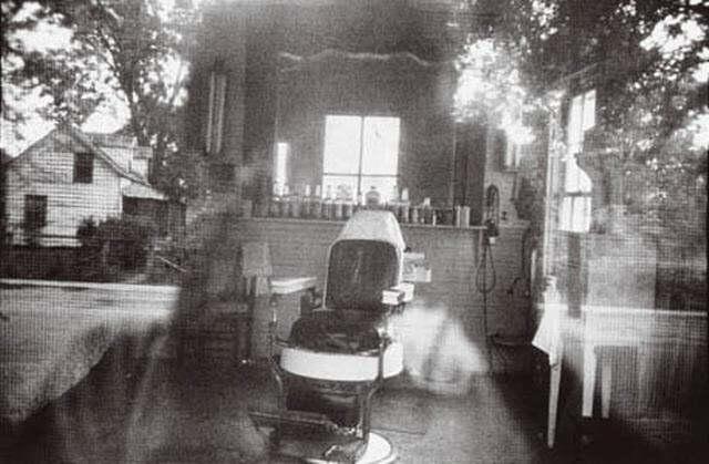 barber shop through screen door - mcclellanville south carolina by robert frank & Barber shop through screen door - McClellanville South Carolina by ...