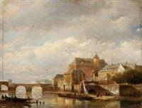 city on a river by kasparus karsen