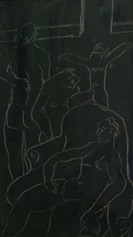 nude assembly by joy hester