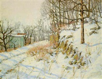 winter morning by charles jacob jung