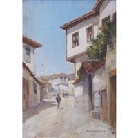 old ankara street by sadik göktuna