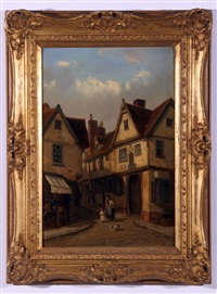 old angel inn, st. clements, ipswich by thomas smythe
