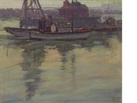harbor sketch by sam hyde harris