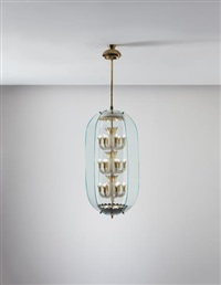 rare chandelier by pietro chiesa