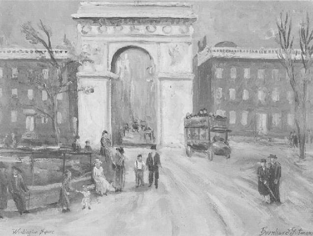 washington square by bernhard gutmann
