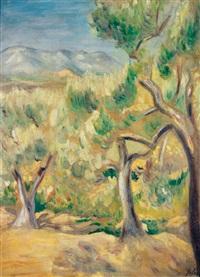paysage du midi by henri lebasque