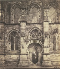 rosslyn chapel: south porch by roger fenton