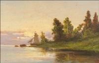 kesäilta saaristossa by rudolph akerblom