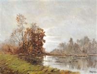 bord d'étang by g. peraccio