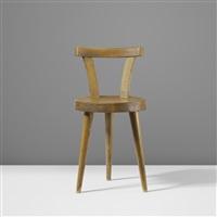 three legged chair by charlotte perriand