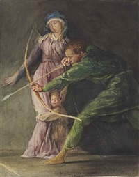 the last arrow of will of cloudeslie by john la farge