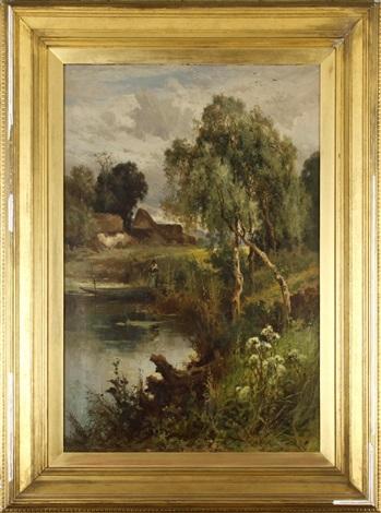 a sylvan brook by john horace hooper