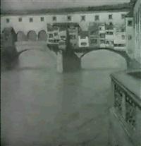 ponte vecchio, florenz by alfred keller