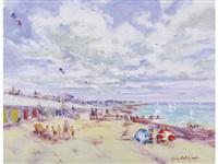 la plage du touquet by georges yoldjoglou