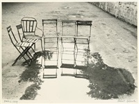 paris (chairs) by robert frank