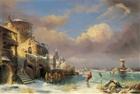 eisvergnügen by jacques van gingelen