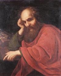 saint paul in meditation by noël quillerier
