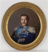portrait du tsar alexandre iii by sergei konstantinovich zaryanko