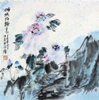 牡丹 by liu guohui