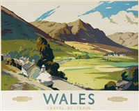 wales, british railways by frank sherwin