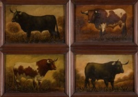 toros (4 works) by a. amodeo