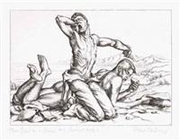 two boys on a beach no. 1 by paul cadmus