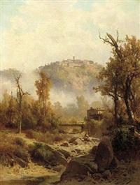 certaldo, tuscany by guido agostini