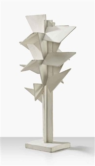 maquette for 'arbre cubiste' by johannes koekkoek