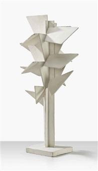 maquette for 'arbre cubiste' by johannes koekkoek
