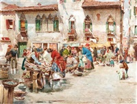 at the market by giuseppe vizzotto alberti