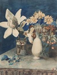 nature morte aux fleurs by zacharie astruc