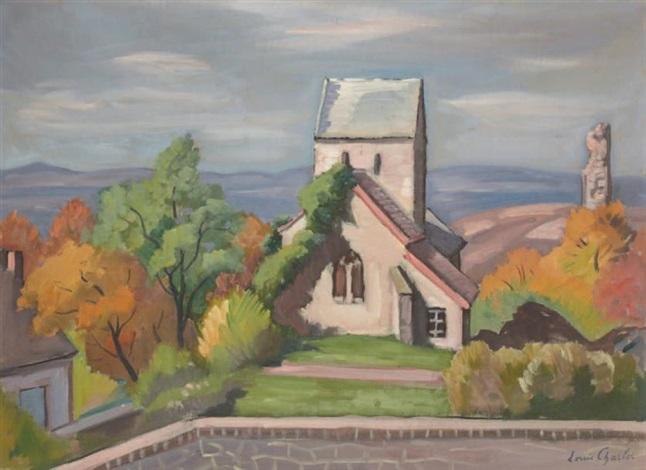 la chapelle duchon dans le morvan by louis charlot
