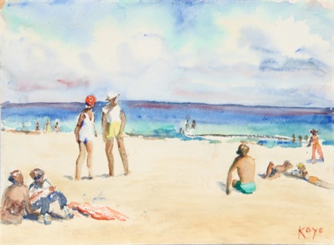 at the beach by elizabeth gutman kaye