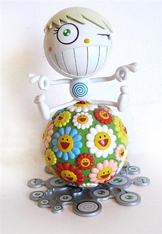 mr wink cosmos ball and louis vuitton chibi kinoko moca agenda 2 works by takashi murakami