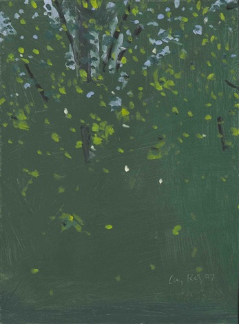 summer trees by alex katz