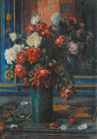 vaso di fiori by mario agrifoglio
