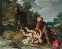 the good samaritan by pieter lastman