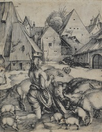 le fils prodigue by albrecht dürer