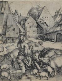le fils prodigue by albrecht dürer