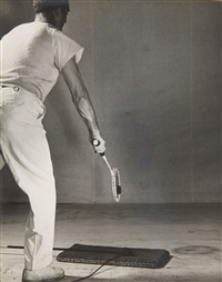 impact of a squash racquet and ball by harold eugene edgerton